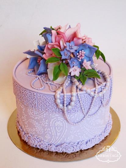 Картинки на торт ваза с цветами