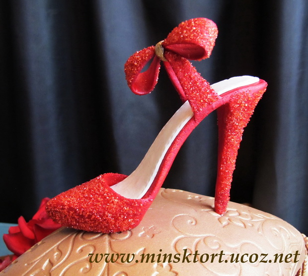 Туфельки На Торт