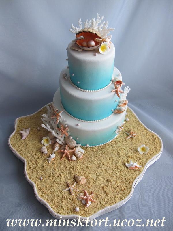 На жемчужную свадьбу 17 54 торт на