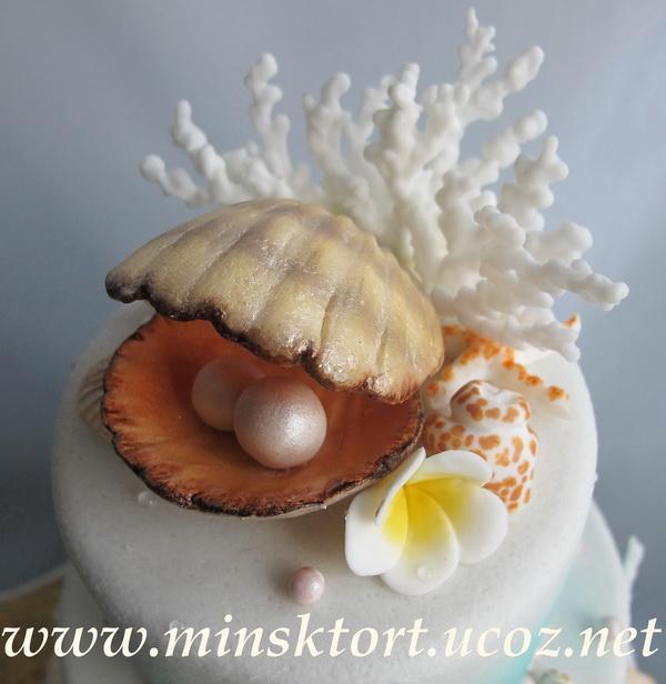 Торт на жемчужную свадьбу 10 декабря