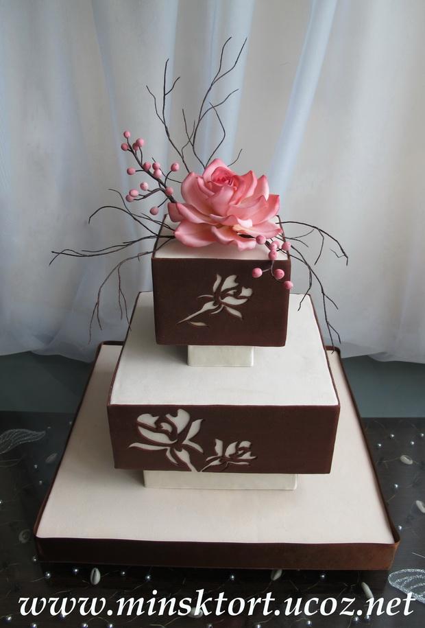 Торты свадебные и праздничные торты