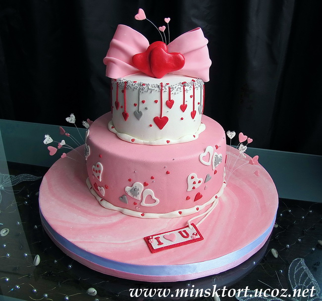 Торт на годовщину свадьбы 5 кг